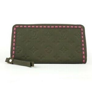 LOUIS VUITTON Zippy Empreinte Clutch Wallet NWTS